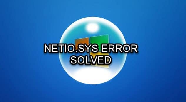 Netio.sys_error
