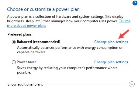 Change_blanced_plan_settings