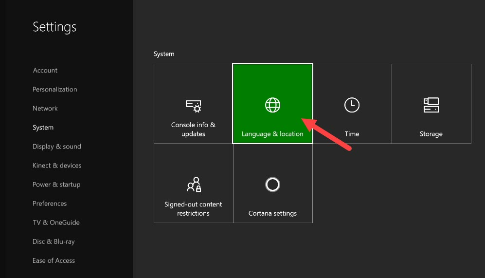 Changing_the_location_in_xbox_one