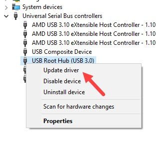 Update_USB_root_hub