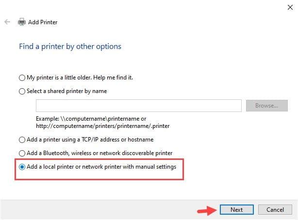 Add_a_local_printer_manual_settings