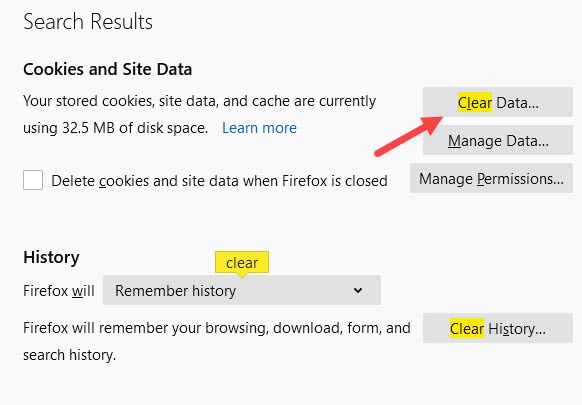 Clear_data_in_firefox