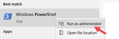 Run_powershell_as_an_administrator