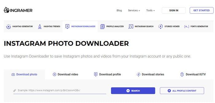 Ingrammer_instagram_photo_downloader