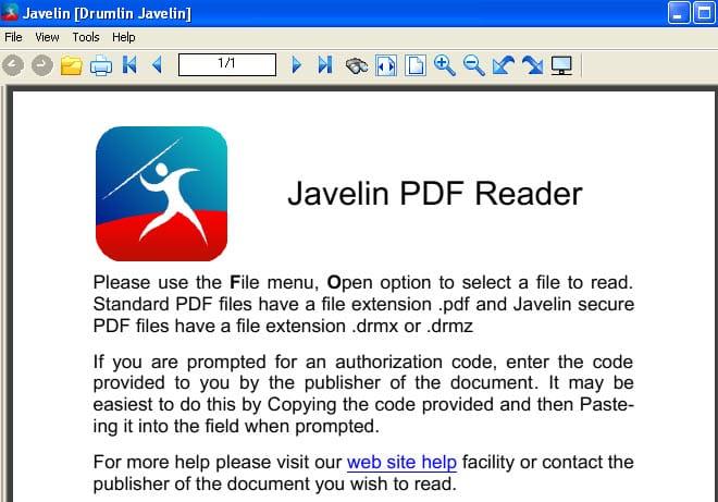 Javelin_pdf_reader