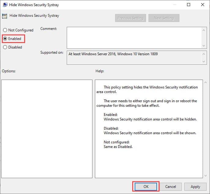 remove_windows_defender_notification_icon_using_local_policy_editor