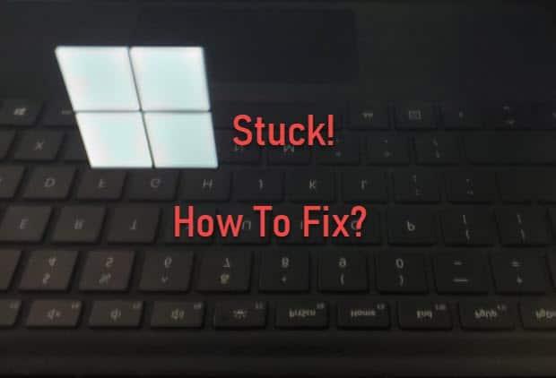 surface_pro_stuck_on_logo