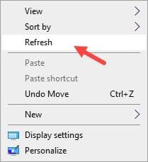 Refresh_desktop