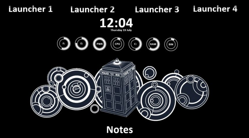 doctor_who_rainmeter_skin