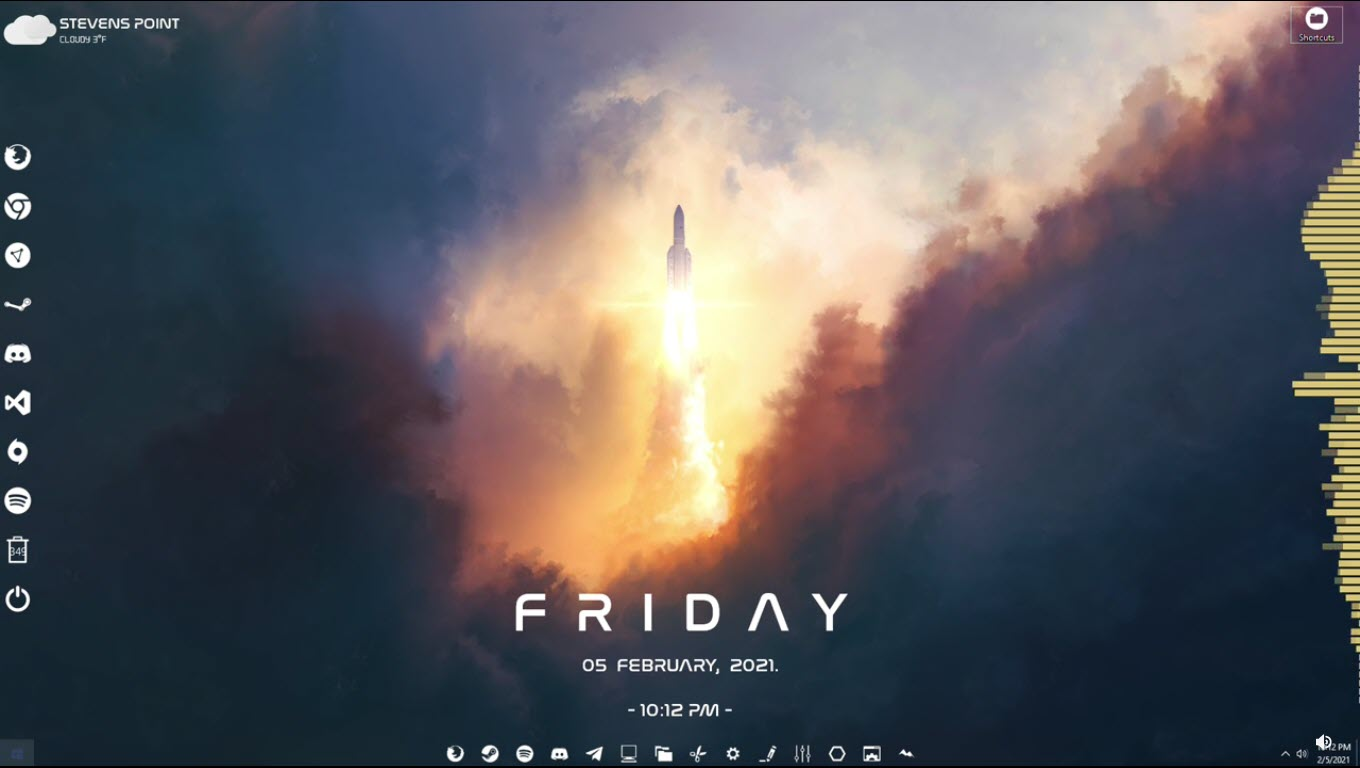 lift_off_rainmeter_skin