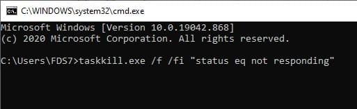 kill_unresponsive_processes_using_task_kill_command_line