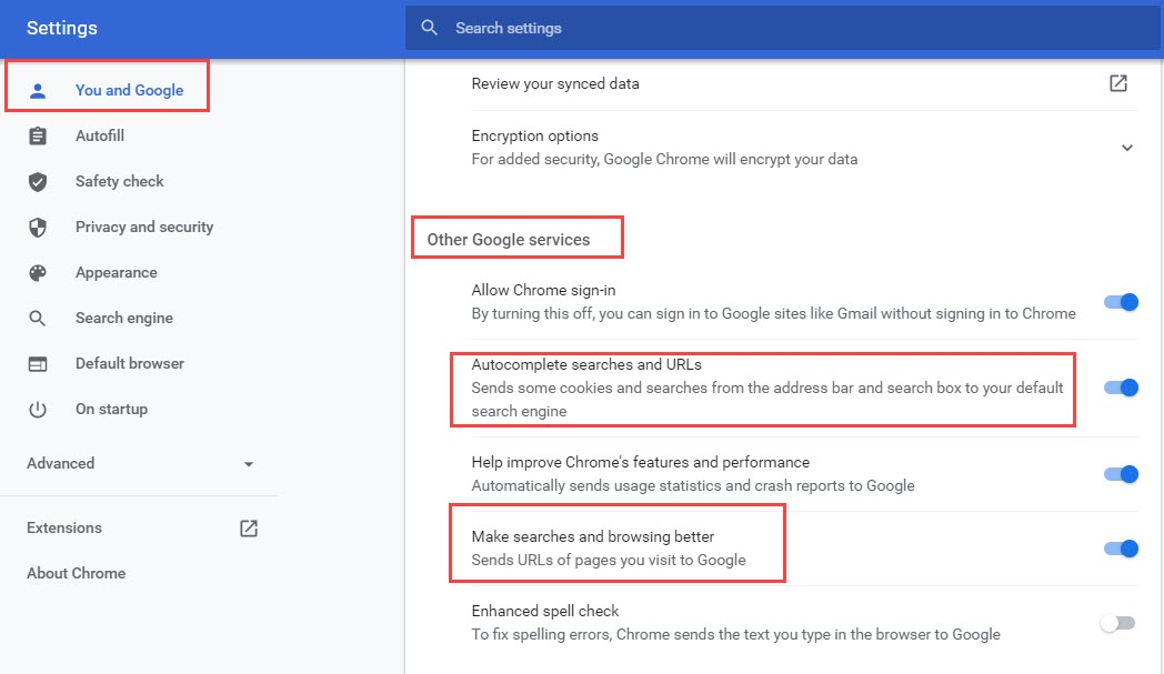disable_autocomplete_on_chrome_for_urls
